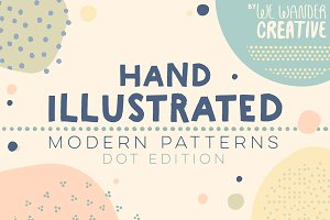 Hand Illustrated Dot Patterns