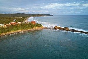 Surfing resort in Nicaragua