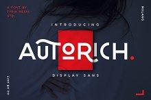 Autorich Sans (30% OFF)