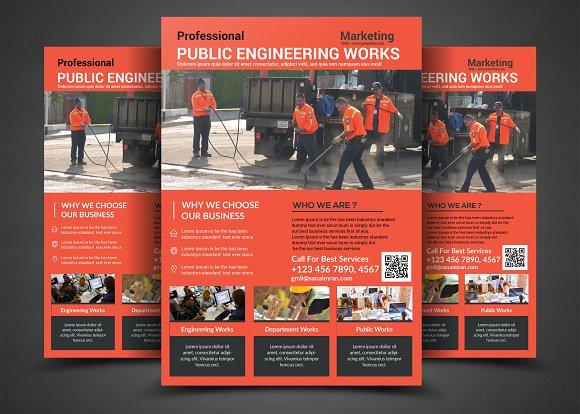PUBLIC WORKS Flyer