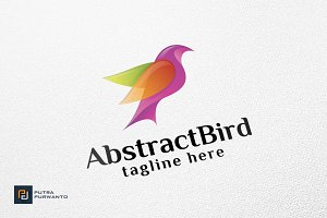 Abstract Bird - Logo Template
