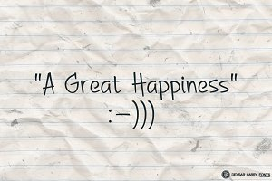 A Great Happiness
