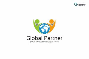 Global Partner Logo Template