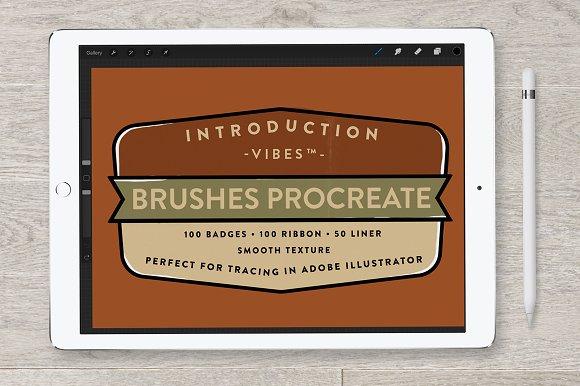 Brush Procreate Ornament