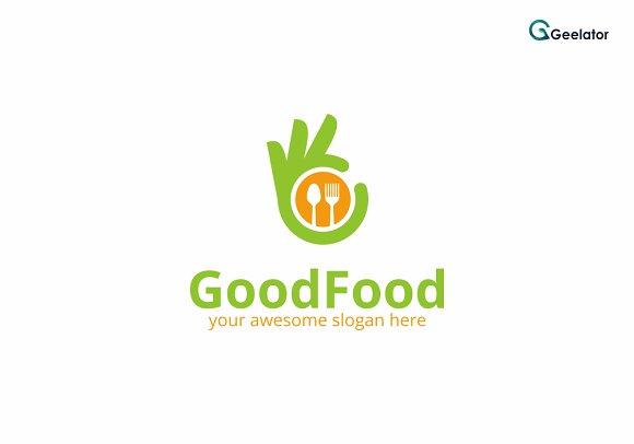 Good Food Logo Template