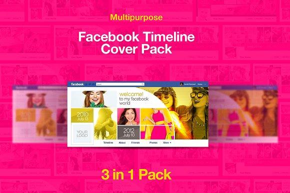 Modern Facebook Timeline Cover Pack