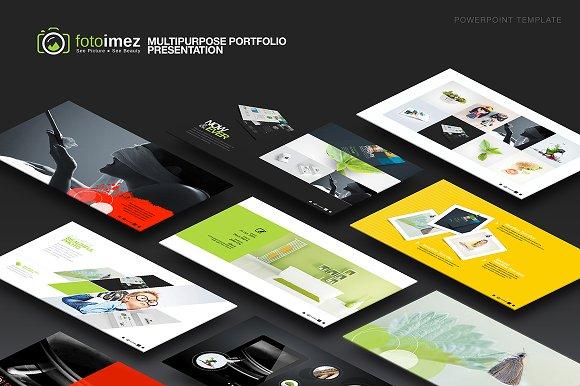 Multipurpose Portfolio Powerpoint