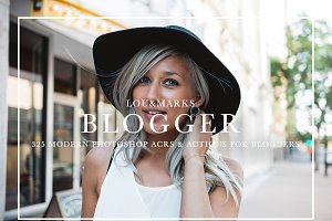 325+ Blogger Photoshop Bundle