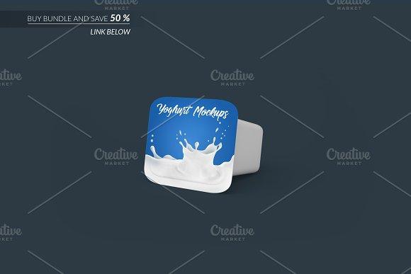 Yoghurt Packaging Mockup 3