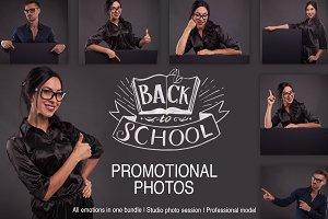 Luxury promotional photos bundle