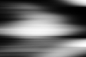 Horizontal black and white bokeh background