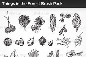 Things in the Forest Brushes