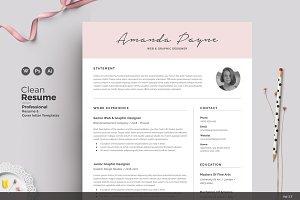 Resume/CV | Amanda