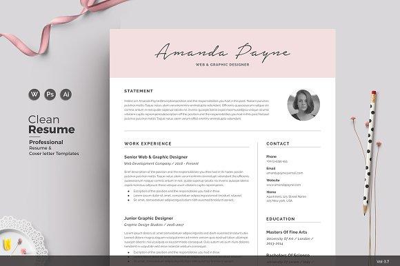 Resume CV Amanda
