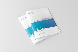 A4 Brochure / Catalog Mock-Ups