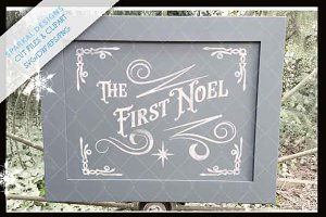 The First Noel Stencil file