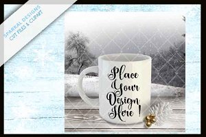 Coffee Mug Mockup Holiday