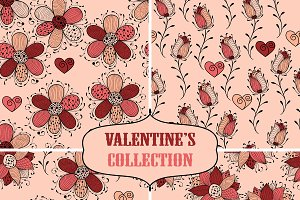 Valentine's Seamless Collection