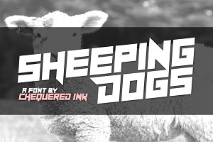 Sheeping Dogs Font