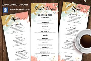 Menu Template - Id30