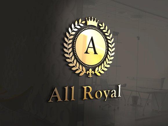 A-Z All Royal Bundle Logo Monograms