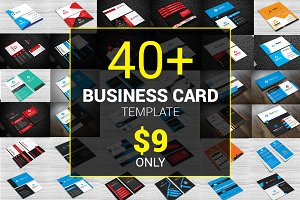 40+ Business Card Bundle 97% OFF