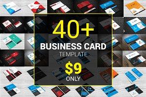 40+ Business Card Bundle 97% OFF