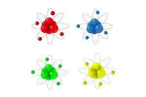 3d molecule structure.