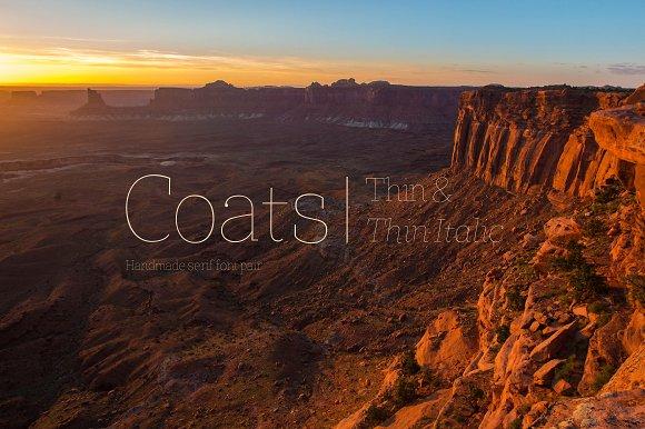 Coats Thin Coats Thin Italic
