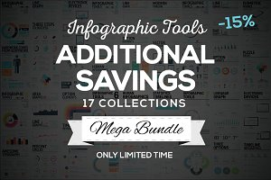 SAVE 15% - Infographic Mega Bundle