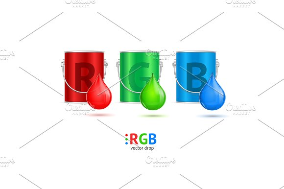 RGB Concept Can Bucket
