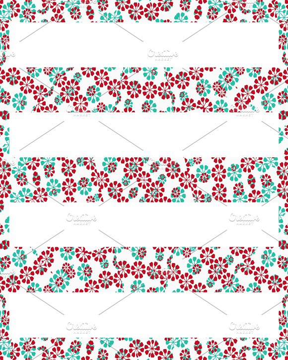 Stationery Stripes Decorated Background