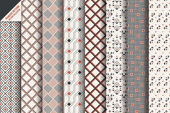 Geometric Modern Seamless Patterns