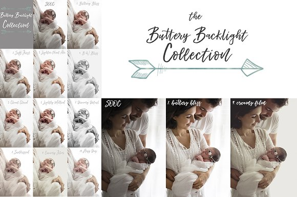 Buttery Backlight Lightroom Presets