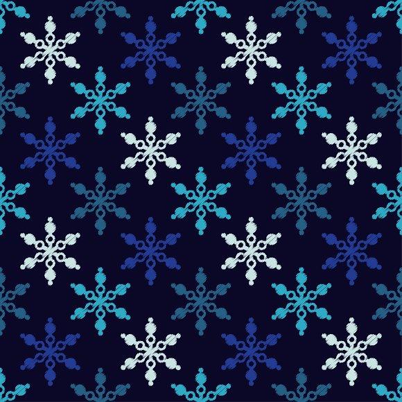 Seamless Blue Background