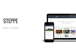 Steppe - Simple Responsive Blog and