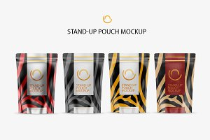 Stand-Up Pouch Mockup