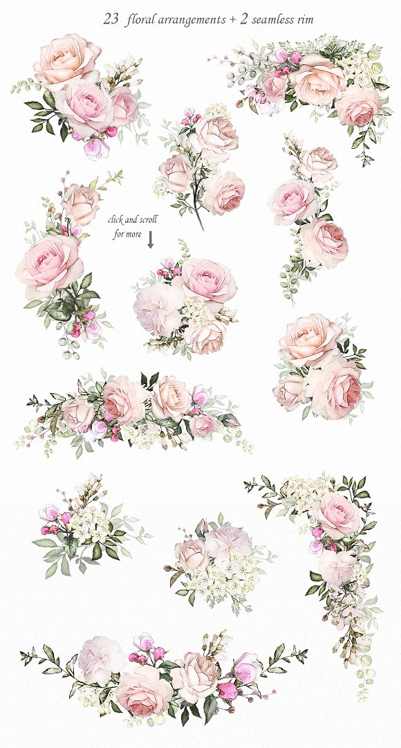 Love Roses Floral Design Set
