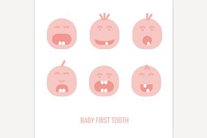 First Tooth Icons