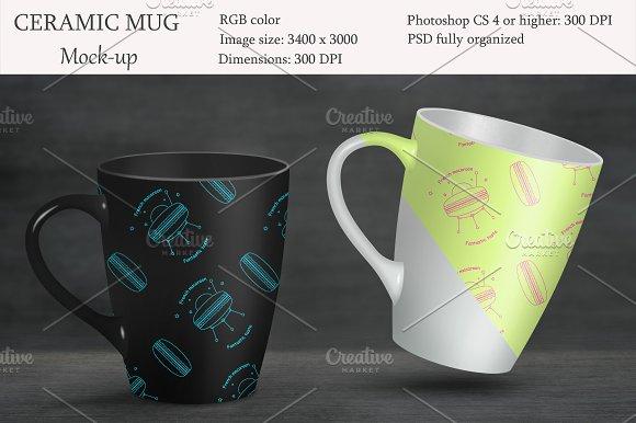 Ceramic Mug Mockup Product Mockup