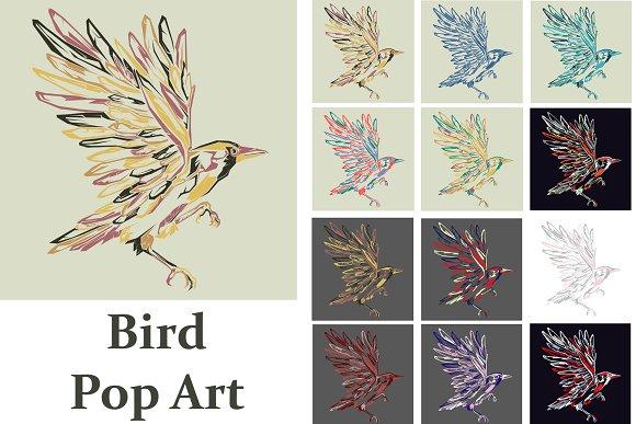 Bird Pop Art