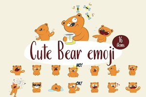 Cute Bear emoji