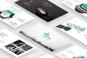 Plus Minimal Powerpoint Template