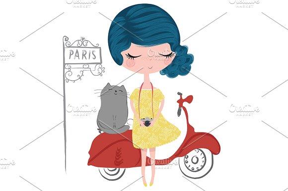 Cute Girl-Beautiful Girl Paris