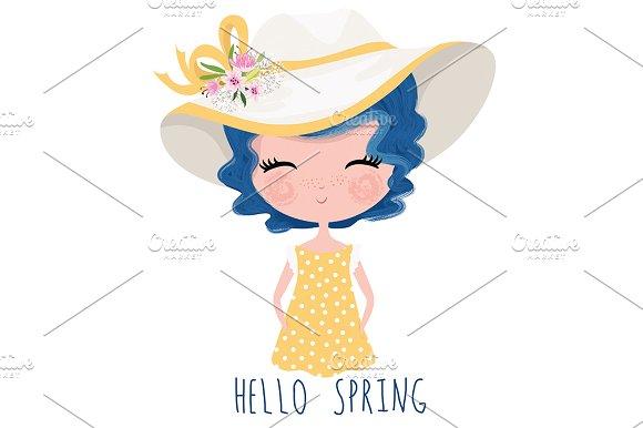 Cute Girl-Beautiful Girl-Postcard