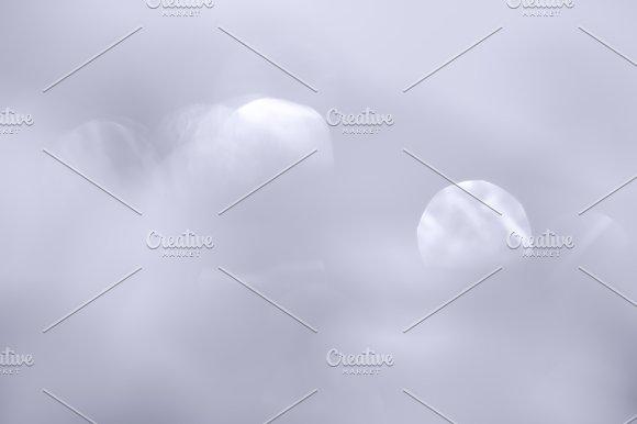 Horizontal Pale Bokeh Background