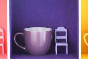 Mugs and chairs