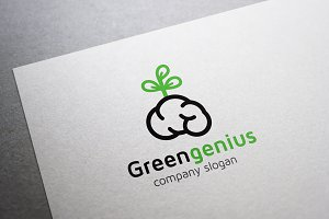 Green Genius Logo