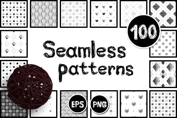 Vector BIG Seamless Patterns SET