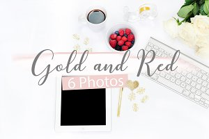 Gold & Red - 6 Photos